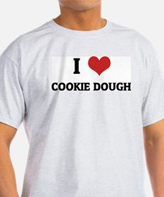 I Love Cookie Dough Ash Grey T-Shirt