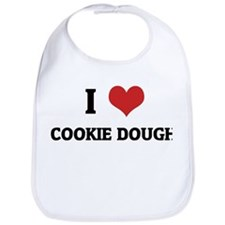 I Love Cookie Dough Bib