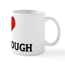 I Love Cookie Dough Mug