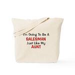 Salesman Aunt Profession Tote Bag