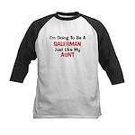 Salesman Aunt Profession Kids Baseball Jersey