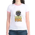 phone home pug dog look Jr. Ringer T-Shirt