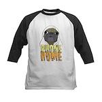 phone home pug dog look Kids Baseball Jersey