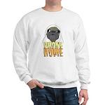 phone home pug dog look Sweatshirt