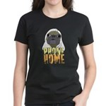 phone home pug dog look Women's Dark T-Shirt