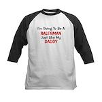 Salesman Daddy Profession Kids Baseball Jersey