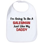 Salesman Daddy Profession Bib