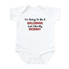 Salesman Mommy Profession Infant Bodysuit