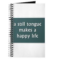 A Still Tongue... Journal