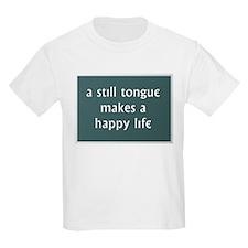 A Still Tongue... T-Shirt