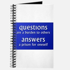 Questions are a burden to oth Journal