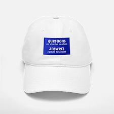 Questions are a burden to oth Baseball Baseball Cap