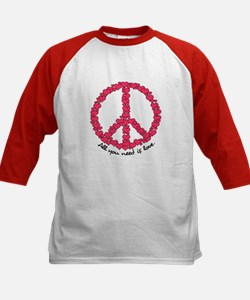 Hearts Peace Sign Tee