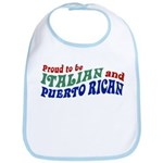 Proud Italian Puerto Rican Bib