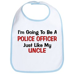 Police Officer Uncle Professi Bib