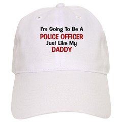 Police Officer Daddy Professi Cap