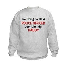Police Officer Daddy Professi Sweatshirt