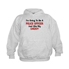 Police Officer Daddy Professi Hoodie