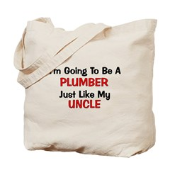 Plumber Uncle Profession Tote Bag