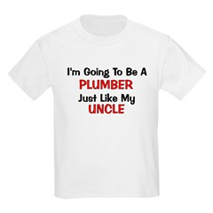 Plumber Uncle Profession T-Shirt