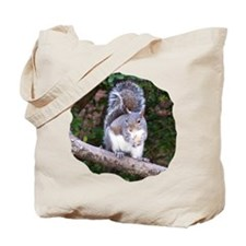 Squirrel Treat Tote Bag