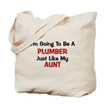 Plumber Aunt Profession Tote Bag