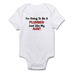 Plumber Aunt Profession Infant Bodysuit