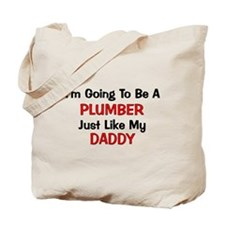 Plumber Daddy Profession Tote Bag