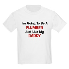 Plumber Daddy Profession T-Shirt