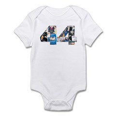 44: Obama Inauguration Newspaper Infant Bodysuit
