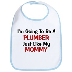 Plumber Mommy Profession Bib