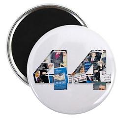 44: Obama Inauguration Newspaper Magnet