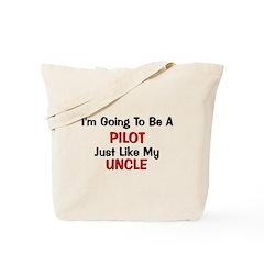 Pilot Uncle Profession Tote Bag
