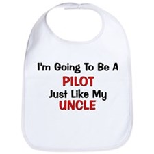 Pilot Uncle Profession Bib