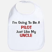 Pilot Uncle Profession Bib