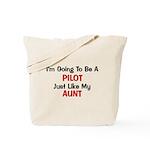 PIlot Aunt Profession Tote Bag