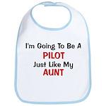 PIlot Aunt Profession Bib