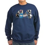 44: Obama Inauguration Newspaper Sweatshirt (dark)