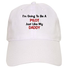 Pilot Daddy Profession Baseball Cap