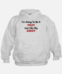 Pilot Daddy Profession Hoodie