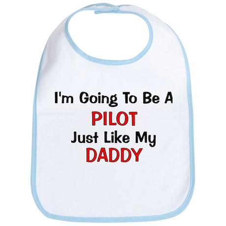 Pilot Daddy Profession Bib