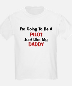 Pilot Daddy Profession T-Shirt
