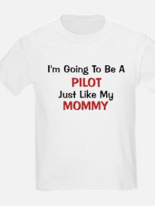 Pilot Mommy Profession T-Shirt