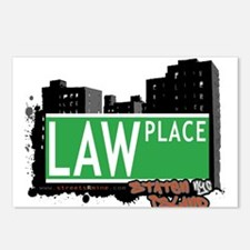 LAW PLACE, STATEN ISLAND, NYC Postcards (Package o