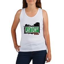 LAYTON AVENUE, STATEN ISLAND, NYC Women's Tank Top