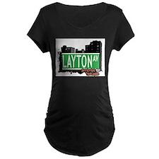LAYTON AVENUE, STATEN ISLAND, NYC T-Shirt