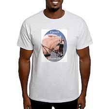 Fjord Power...Ash Grey T-Shirt
