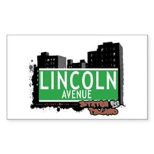 LINCOLN AVENUE, STATEN ISLAND, NYC Decal