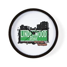 LINDENWOOD AVENUE, STATEN ISLAND, NYC Wall Clock