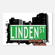 LINDEN STREET, STATEN ISLAND, NYC Postcards (Packa